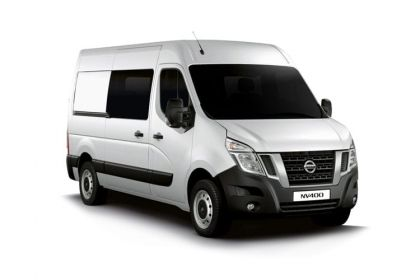Nissan NV400 Crew Van L3 35 FWD 2.3 dCi FWD 150PS Tekna Crew Van Medium Roof Auto [Start Stop]