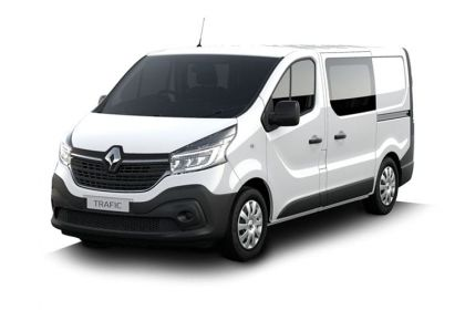 Renault Trafic Crew Van 30 SWB 2.0 dCi ENERGY FWD 145PS Business+ Crew Van EDC [Start Stop]