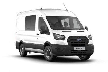 Ford Transit Crew Van 350 L3 RWD 2.0 EcoBlue RWD 130PS Trend Crew Van High Roof Manual [Start Stop] [DCiV]