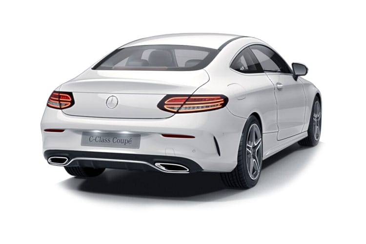 Mercedes-Benz C Class C220 Coupe 2.0 d 194PS AMG Line Premium 2Dr G-Tronic+ [Start Stop] back view