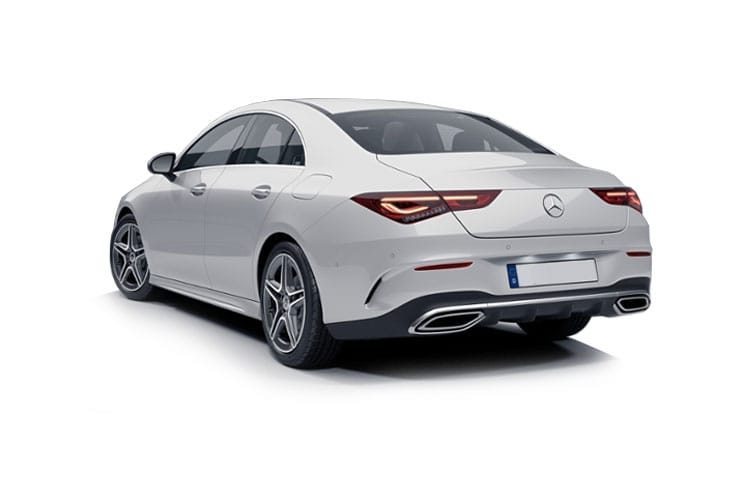 Mercedes-Benz CLA CLA200 Coupe 4Dr 1.3  163PS AMG Line 4Dr 7G-DCT [Start Stop] back view
