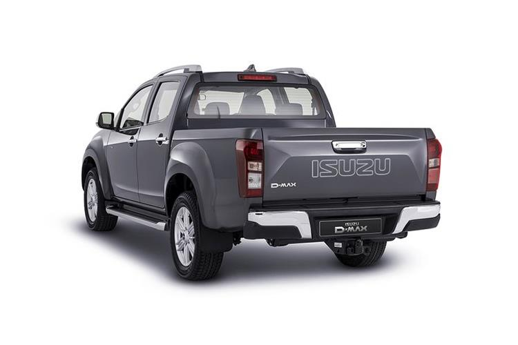 Isuzu D-MAX Pick Up Double Cab 4wd 1.9 TD 4WD 164PS Yukon Nav+ Pickup Double Cab Auto back view