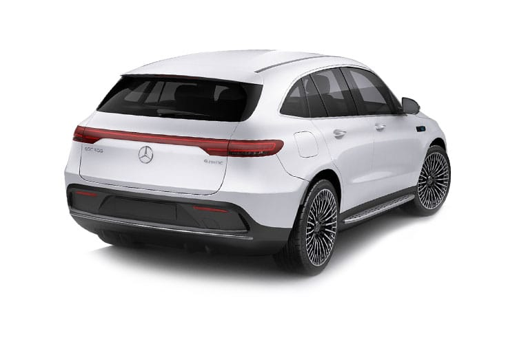 Mercedes-Benz EQC EQC 400 SUV 4MATIC E 80kWh 300KW 408PS AMG Line Premium Plus 5Dr Auto back view