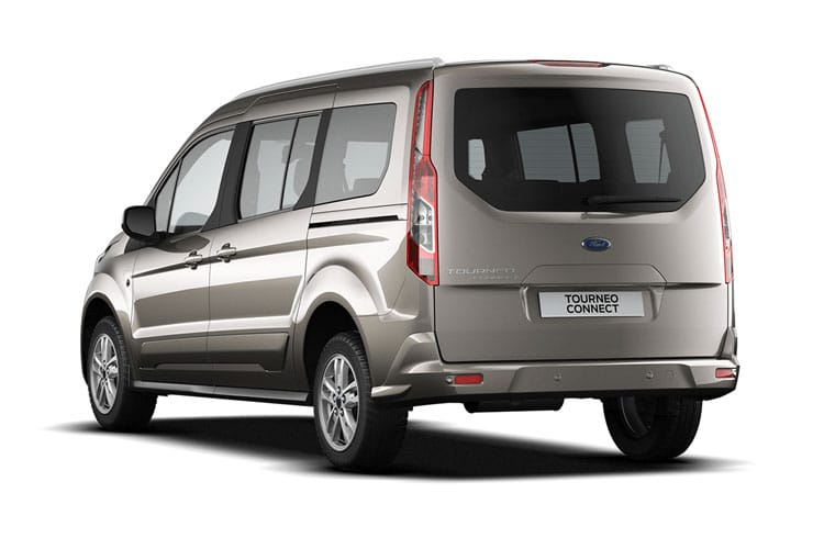 Ford Tourneo Connect Grand Tourneo Connect M1 1.5 EcoBlue FWD 120PS Titanium MPV Manual [Start Stop] [5Seat] back view