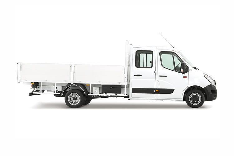 Renault Master MWBL 35TW RWD 2.3 dCi DRW 130PS Business Tipper Manual [Tool Box] back view
