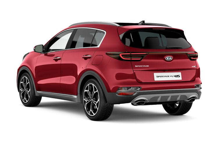 Kia Sportage SUV 2wd 1.6 CRDi MHEV 134PS JBL Black Edition 5Dr DCT [Start Stop] back view