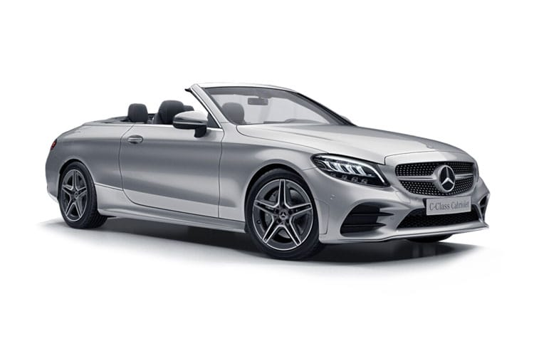 Mercedes-Benz C Class C220 Cabriolet 4MATIC 2.0 d 194PS AMG Line 2Dr G-Tronic+ [Start Stop] front view