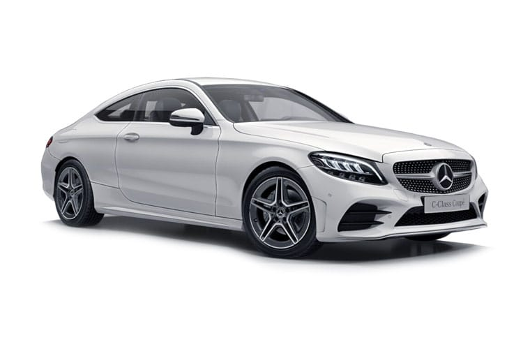 Mercedes-Benz C Class C300 Coupe 2.0 MHEV 272PS AMG Line Night Edition 2Dr G-Tronic+ [Start Stop] [Premium Plus] front view