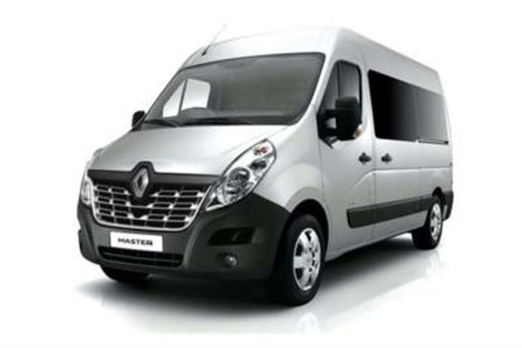 Renault Master LWB 35 FWD 2.3 dCi ENERGY FWD 150PS Business Window Van High Roof Manual [Start Stop] front view