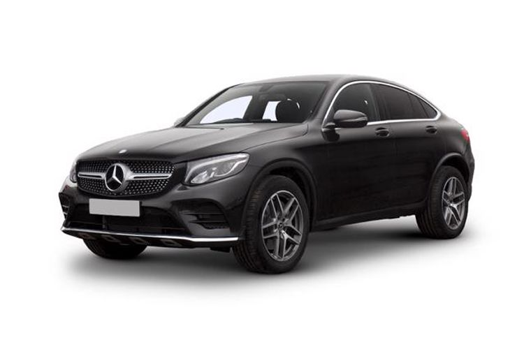 Mercedes-Benz GLC AMG GLC63 Coupe 4MATIC+ 4.0 V8 BiTurbo 510PS S Night Edition Premium Plus 5Dr SpdS MCT [Start Stop] front view