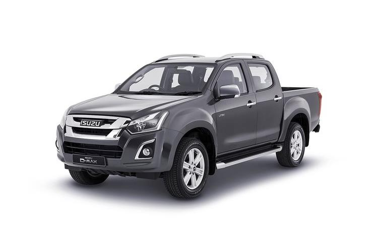 Isuzu D-MAX Pick Up Double Cab 4wd 1.9 TD 4WD 164PS Yukon Nav+ Pickup Double Cab Auto front view