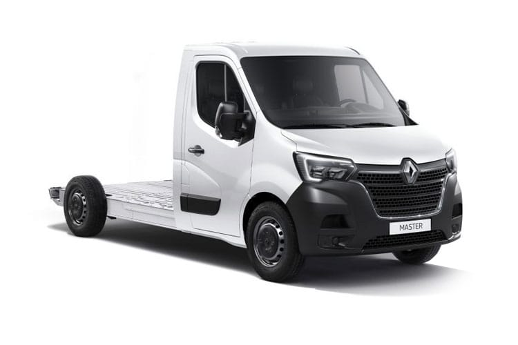 Renault Master LWB 35 FWD 2.3 dCi FWD 150PS Business Platform Cab Quickshift front view
