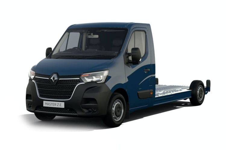 Renault Master MWB 35TW RWD 2.3 dCi DRW 130PS Business Chassis Cab Manual front view