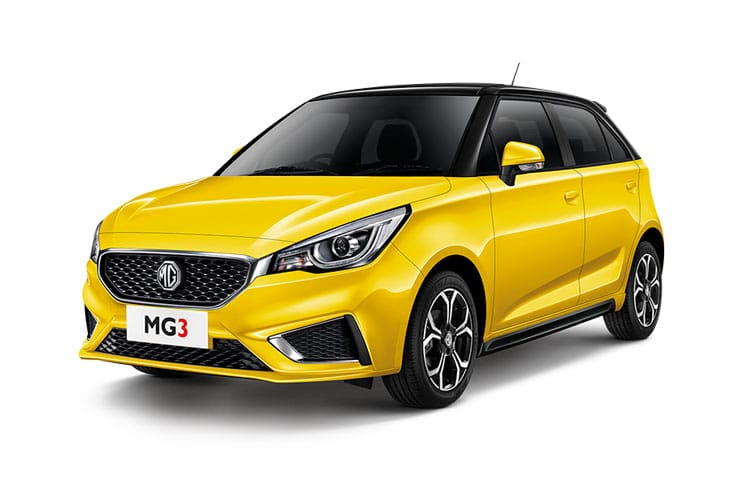MG Motor UK MG3 Hatch 5Dr 1.5 VTi-TECH 106PS Excite 5Dr Manual [Start Stop] front view