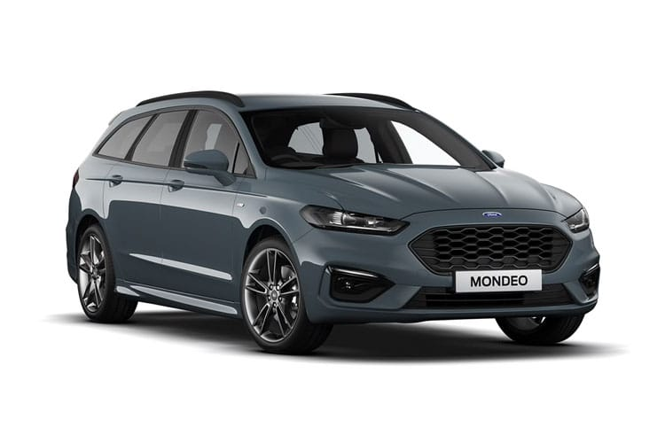 Ford Mondeo Estate 2.0 EcoBlue 150PS Zetec Edition 5Dr Auto [Start Stop] front view