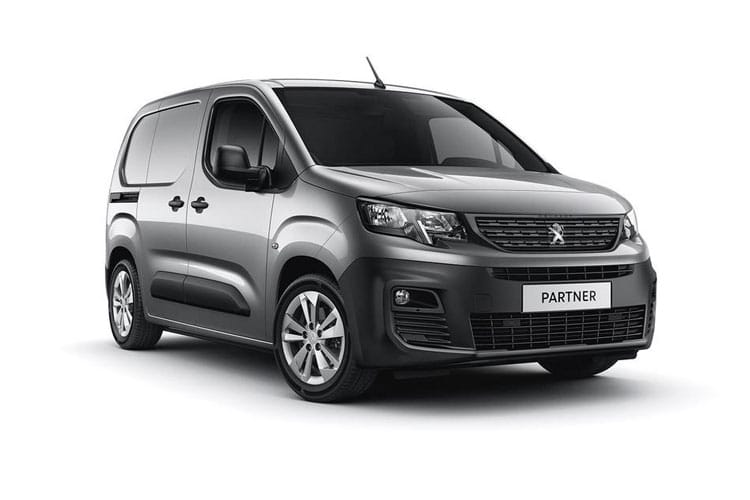 Peugeot Partner Standard 1000Kg 1.5 BlueHDi FWD 130PS Asphalt Premium Van EAT8 [Start Stop] front view