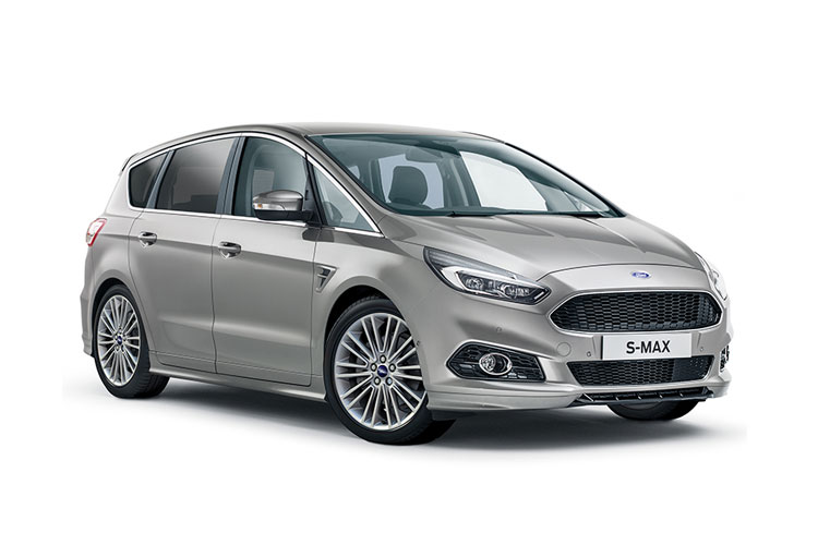 Ford S-MAX MPV 2.5 h Duratec 190PS Vignale 5Dr CVT [Start Stop] front view