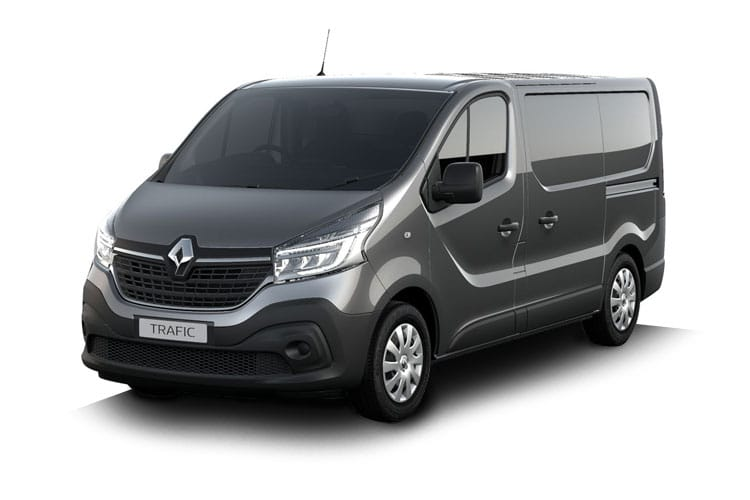 Renault Trafic 30 LWB 2.0 dCi ENERGY FWD 145PS Business+ Van High Roof Manual [Start Stop] front view