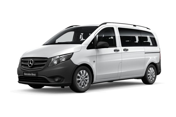 Mercedes-Benz Vito Tourer 114 L3 M1 FWD 1.7 CDi FWD 136PS SELECT Minibus Manual [Start Stop] [8Seat] front view