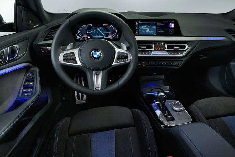 BMW 2 Series 220 Gran Coupe 2.0 i 178PS M Sport 4Dr DCT [Start Stop] [Tech Pro] inside view