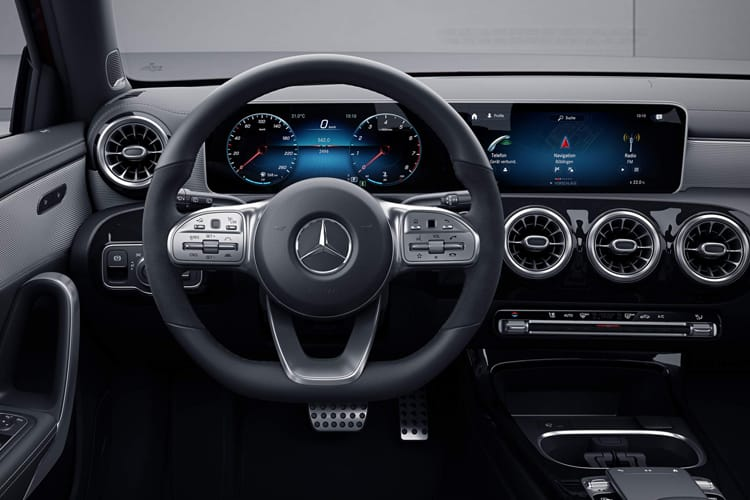 Mercedes-Benz A Class A200 Saloon 4Dr 1.3  163PS AMG Line Premium Plus 4Dr Manual [Start Stop] inside view