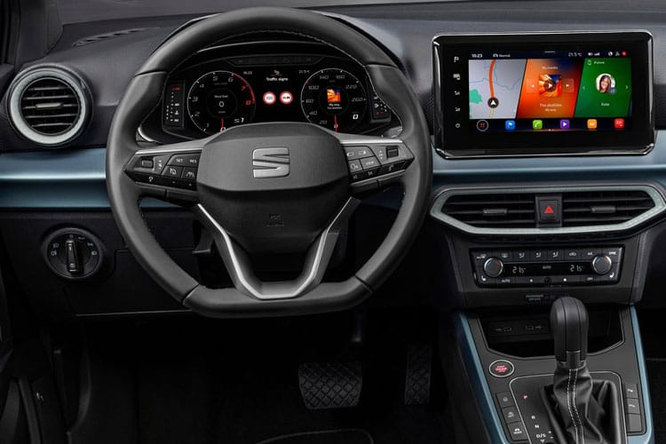SEAT Arona SUV 1.0 TSI 110PS XCELLENCE 5Dr Manual [Start Stop] inside view