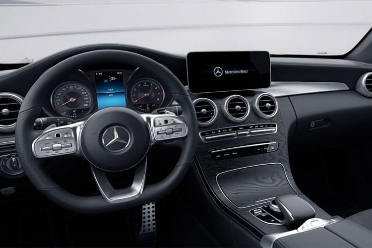 Mercedes-Benz C Class C220 Cabriolet 4MATIC 2.0 d 194PS AMG Line 2Dr G-Tronic+ [Start Stop] inside view