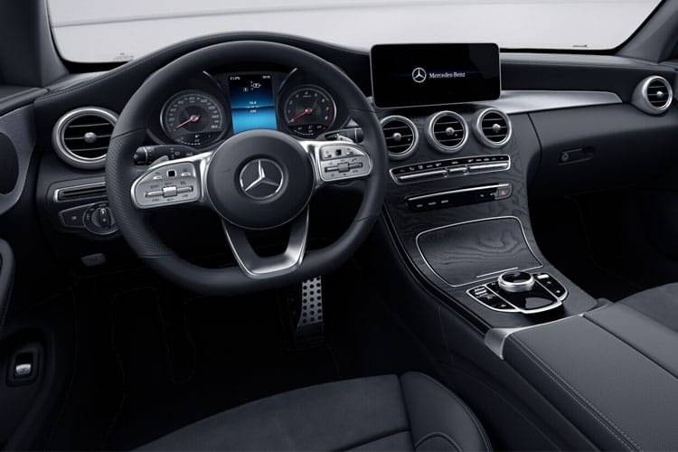 Mercedes-Benz C Class C220 Coupe 2.0 d 194PS AMG Line Premium 2Dr G-Tronic+ [Start Stop] inside view