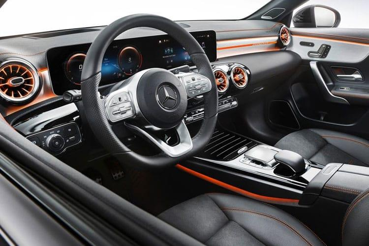 Mercedes-Benz CLA CLA200 Coupe 4Dr 1.3  163PS AMG Line 4Dr 7G-DCT [Start Stop] inside view