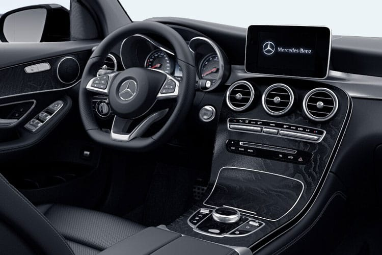 Mercedes-Benz GLC AMG GLC63 Coupe 4MATIC+ 4.0 V8 BiTurbo 510PS S Night Edition Premium Plus 5Dr SpdS MCT [Start Stop] inside view