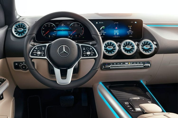 Mercedes-Benz GLA GLA200 SUV 2.0 d 150PS AMG Line 5Dr 8G-DCT [Start Stop] inside view