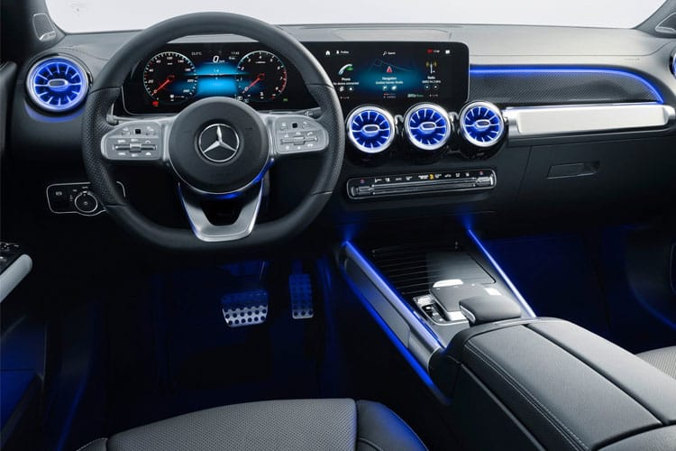 Mercedes-Benz GLB GLB200 SUV 2.0 d 150PS AMG Line 5Dr G-Tronic [Start Stop] inside view