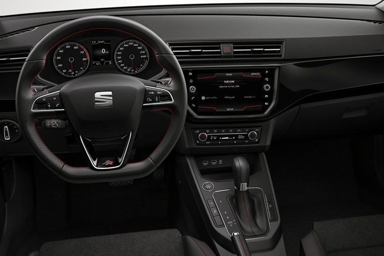 SEAT Ibiza Hatch 5Dr 1.0 TSI 95PS FR 5Dr Manual [Start Stop] inside view