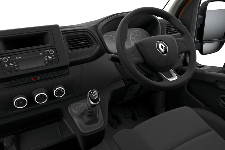 Renault Master LWB 35 FWD 2.3 dCi FWD 150PS Business Platform Cab Quickshift inside view