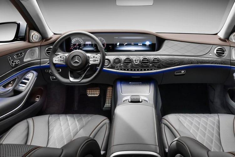 Mercedes-Benz S Class S560eL Saloon 3.0 h V6 PiH 13.5kWh 489PS Grand Edition 4Dr G-Tronic [Start Stop] inside view