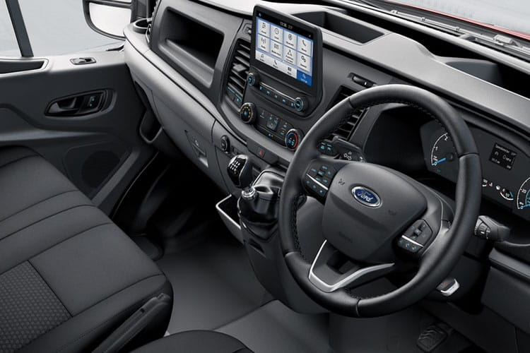 Ford Transit 350 L4 2.0 EcoBlue FWD 170PS Leader Premium Dropside Manual [Start Stop] inside view