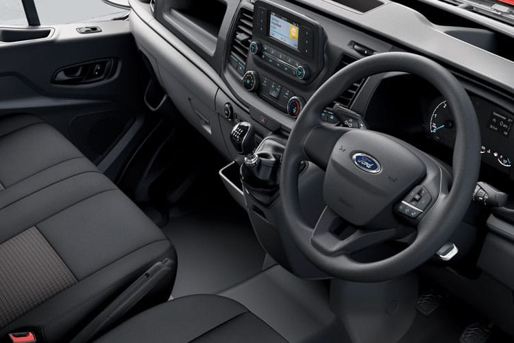 Ford Transit 350 L4 2.0 EcoBlue FWD 130PS Leader Chassis Cab Manual [Start Stop] inside view